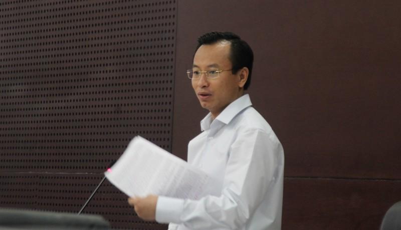"""Bí thư Đà Nẵng Nguyễn Xuân Anh cho biết sẽ """"trảm"""" Chủ tịch các quận huyện để xảy ra xây dựng trái phép. Ảnh: LÊ PHI."""