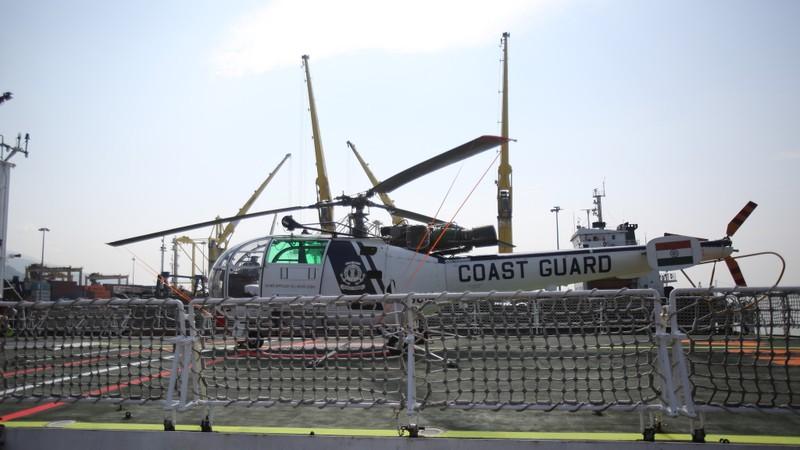 Tàu cảnh sát biển hiện đại của Ấn Độ tới Đà Nẵng - ảnh 1
