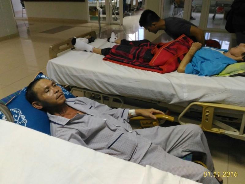 Chiến sĩ Gạc Ma bị ung thư giai đoạn cuối - ảnh 1