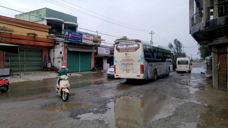 Tháng 5 đường quốc lộ 1 qua Quảng Nam hết ổ voi - ảnh 1