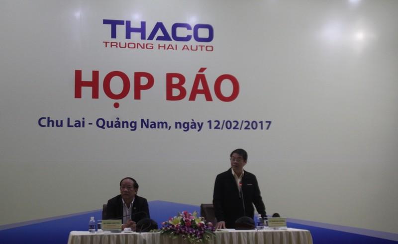 THACO khôi phục sản xuất 5 ngày sau vụ cháy - ảnh 1