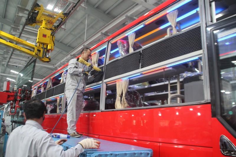 THACO khôi phục sản xuất 5 ngày sau vụ cháy - ảnh 4