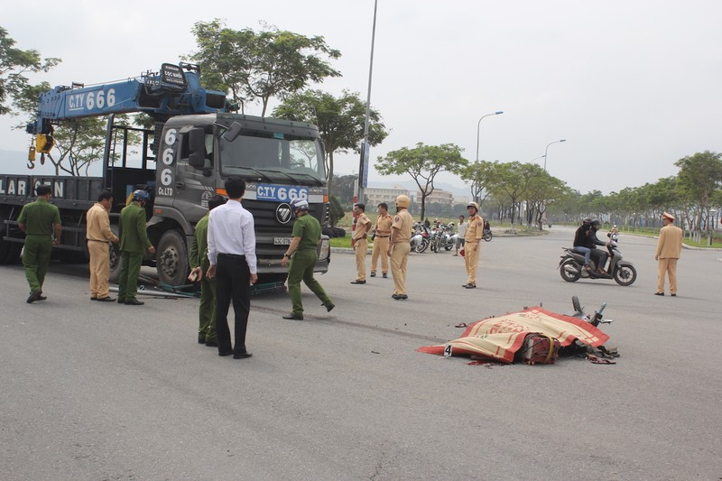 Tài xế xe tải tông chết thợ cơ khí ra trình diện  - ảnh 1