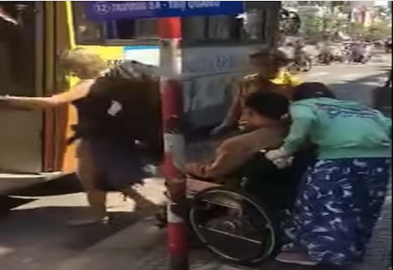 Bức xúc vì xe buýt từ chối chở người khuyết tật - ảnh 2