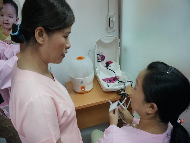 Lần đầu tiên Việt Nam có ngân hàng sữa mẹ  - ảnh 3
