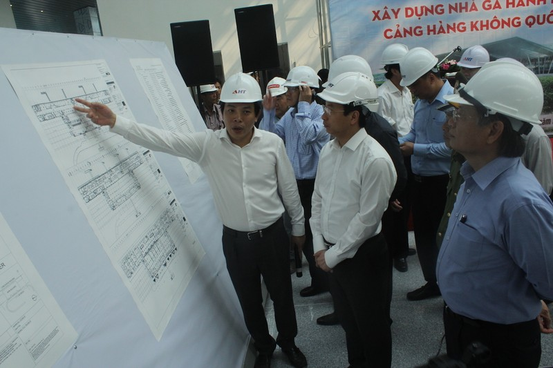 28 ngày nữa sân bay quốc tế Đà Nẵng sẽ hoàn thành - ảnh 1