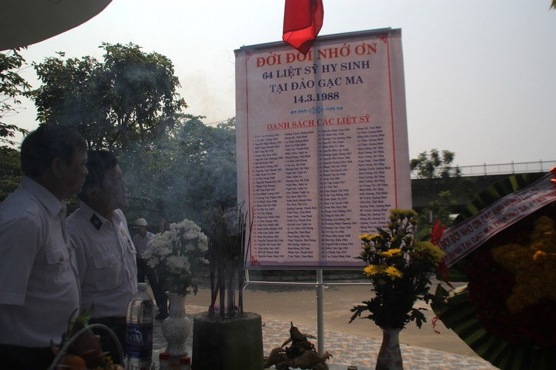 Chiến sĩ Gạc Ma đã khắc tên mình trong lòng Tổ quốc - ảnh 1