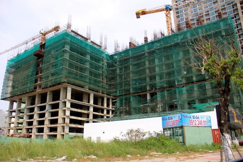 Lén lút xây cụm khách sạn, căn hộ 10 tầng   - ảnh 1