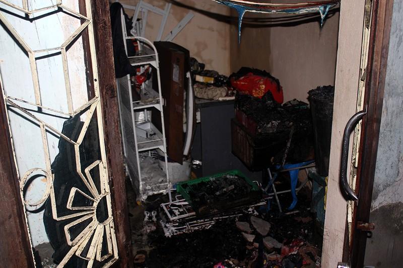 Ngồi xem ti vi, hàng xóm hô cháy nhà mới biết - ảnh 1
