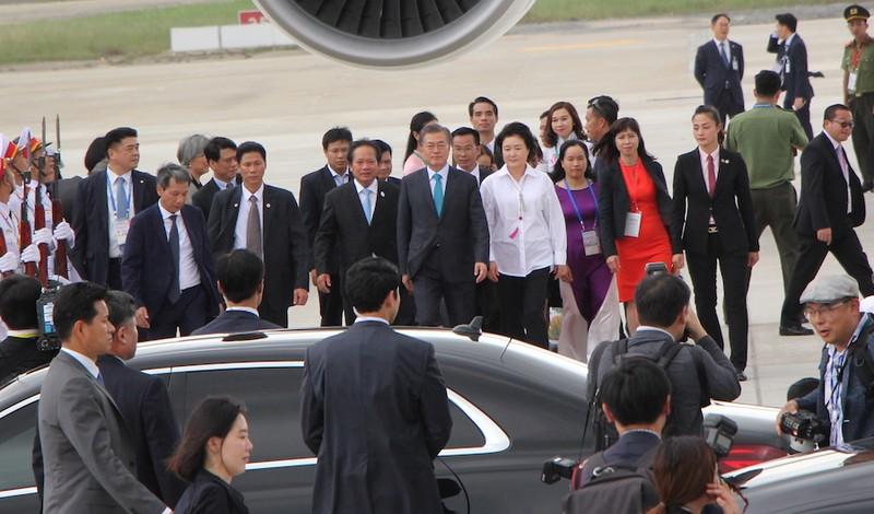 Dấu ấn phong cách của lãnh đạo các nền kinh tế APEC - ảnh 20