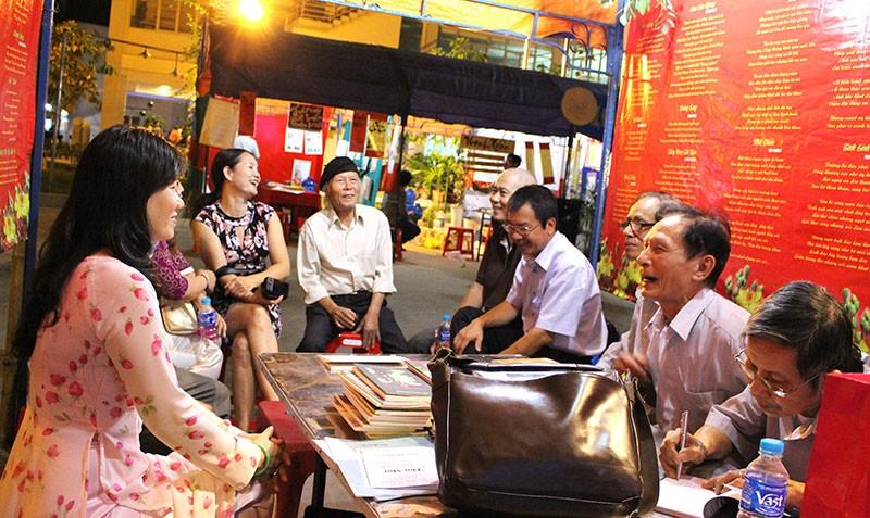 Ngày thơ Việt Nam lần thứ 14 ở TP.HCM - ảnh 5