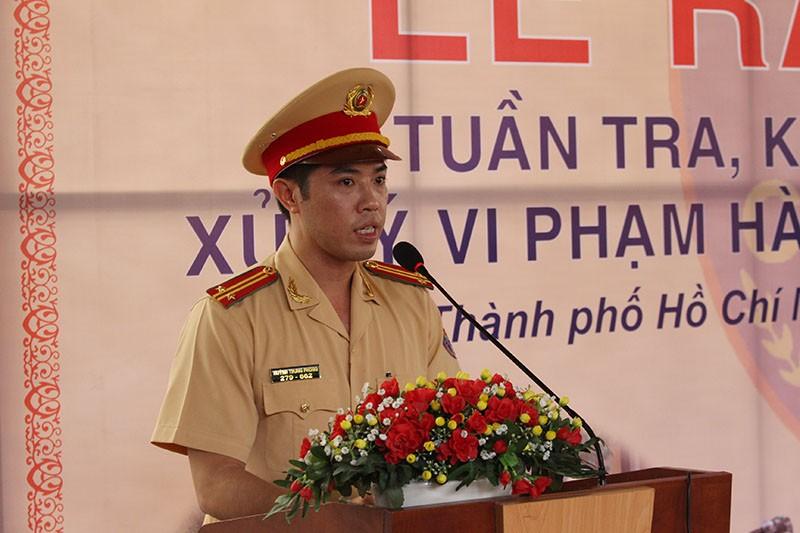 CSGT TP.HCM tung quân ra đường ghi hình phạt vi phạm giao thông - ảnh 3