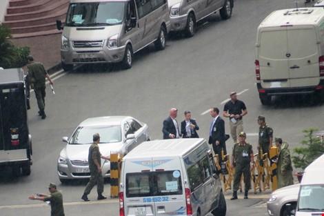 Thắt chặt 4 vòng an ninh các nơi Tổng thống Mỹ đến - ảnh 10
