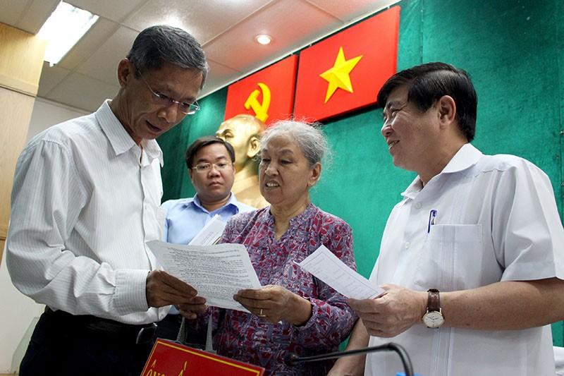Chủ tịch UBND TP Nguyễn Thành Phong