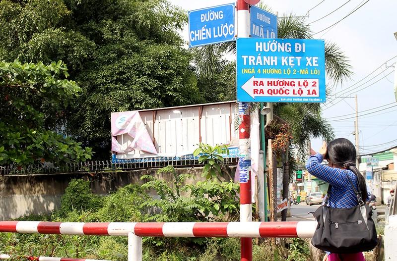 Chùm ảnh: Những tên đường 'có vấn đề' ở TP.HCM - ảnh 9