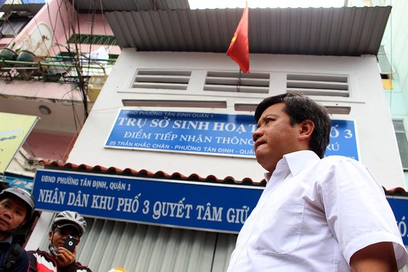 Ông Đoàn Ngọc Hải, Phó Chủ tịch UBND quận 1 đã rút đơn xin từ chức. Ảnh: L. THOA