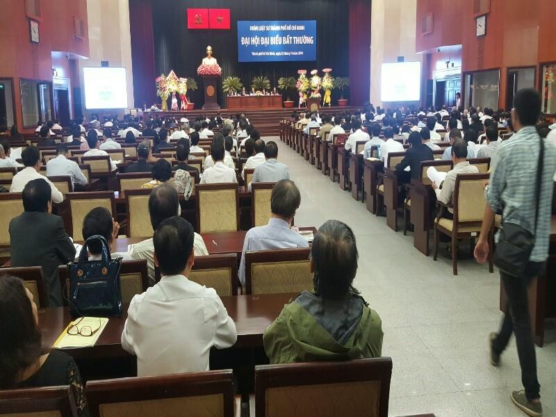 Đại hội đại biểu bất thường Đoàn Luật sư TP.HCM - ảnh 1