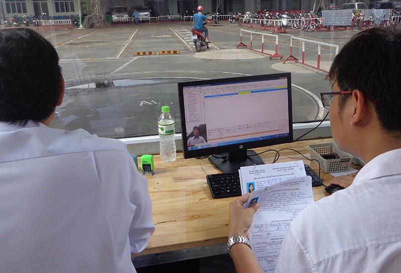 Hơn 20% thí sinh thi... rớt bằng lái xe máy - ảnh 3