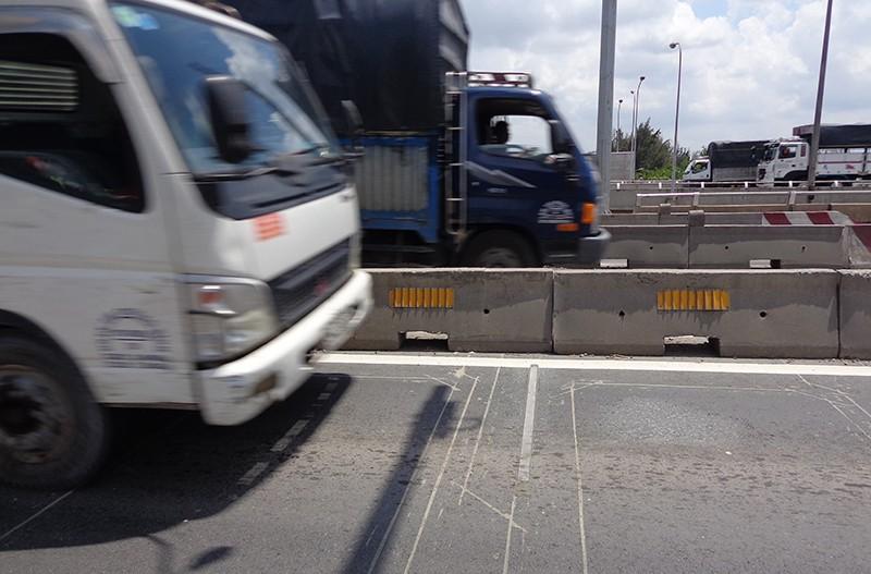 Xe quá tải khó thoát trạm cân tự động  - ảnh 3
