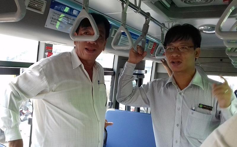 kiểm tra chất lượng xe bus