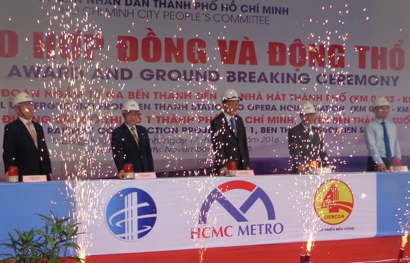 Bắt đầu xây nhà ga trung tâm Bến Thành - ảnh 2