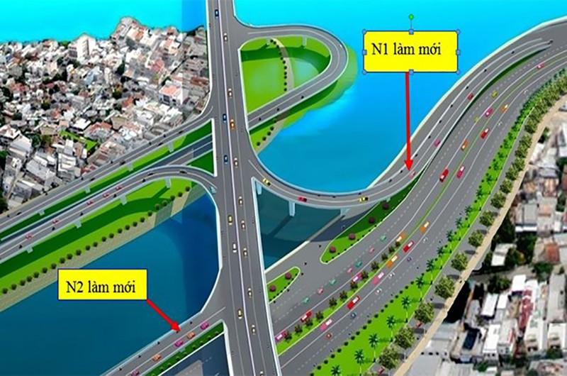 Ngày 24-11, làm hai nhánh lên xuống cầu Nguyễn Văn Cừ - ảnh 1