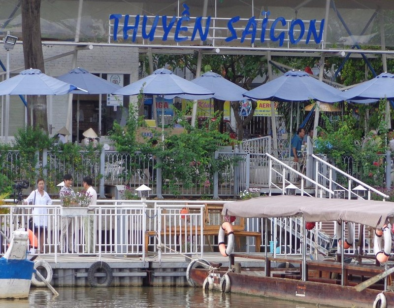 """Thuyền Sài Gòn"""" ý tưởng du lịch trên kênh Nhiêu Lộc - Thị Nghè xuất hiện vài năm qua"""