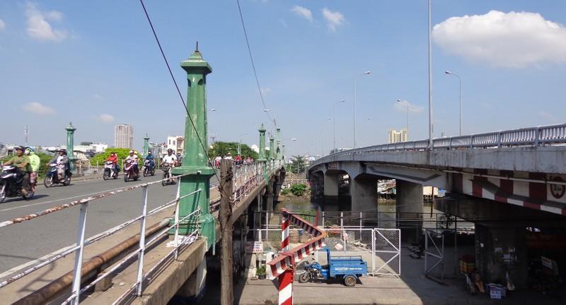 Bắt đầu xây cầu Nhị Thiên Đường 1 mới - ảnh 3