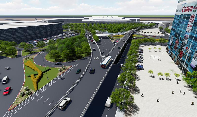 Khởi công hai cầu vượt 'giải cứu' sân bay Tân Sơn Nhất - ảnh 3