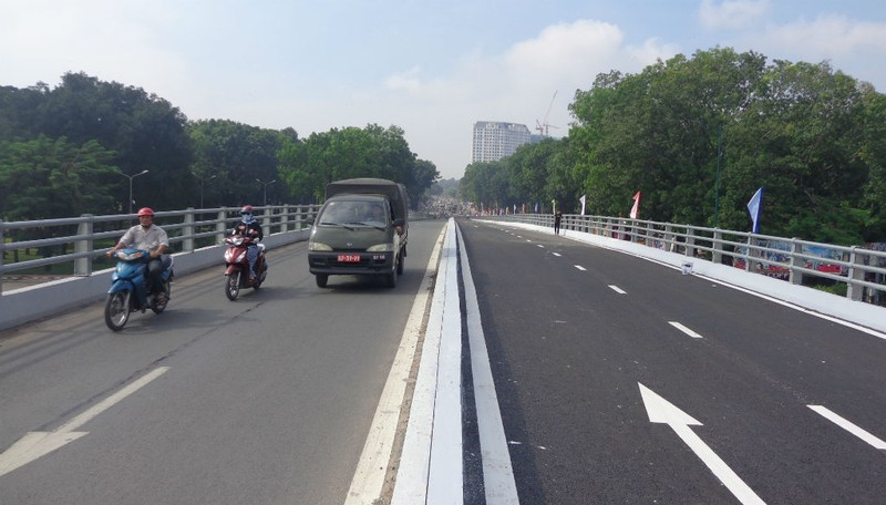 Thông thêm nhánh cầu vượt Nguyễn Kiệm - Nguyễn Thái Sơn - ảnh 1