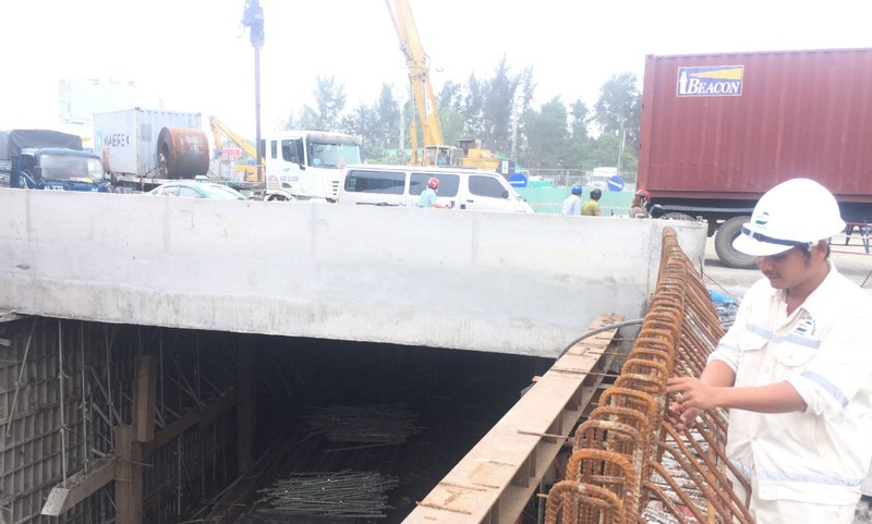 Tháng 1-2018, thông hầm chui dưới nút giao Mỹ Thủy - ảnh 2