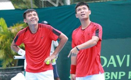 Cặp Hoàng Nam - Hoàng Thiên thua trận thứ ba trước Thái Lan - ảnh 1