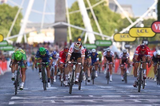 Với cú nước rút đánh bại Peter Sagan và Alexander Kristoff, Andre Greipel (Lotto Soudal) giành chiến thắng chặng thi đấu cuối.