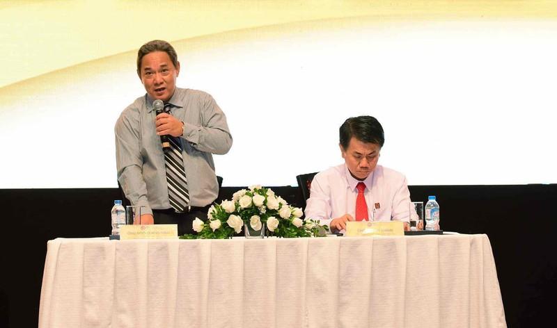 Phó Chủ tịch liên đoàn ông Ngô Quang Vinh