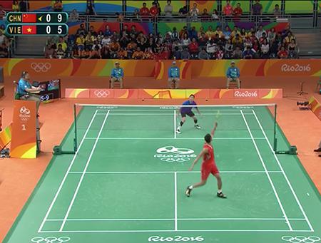 Thất bại nhưng Tiến Minh vẫn buộc Lin Dan bò lăn trên sân - ảnh 2