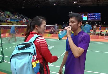 Thất bại nhưng Tiến Minh vẫn buộc Lin Dan bò lăn trên sân - ảnh 4