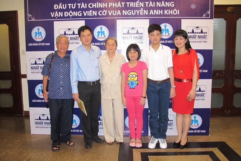 Kỳ thủ Nguyễn Anh Khôi được đầu tư tiền tỉ - ảnh 1