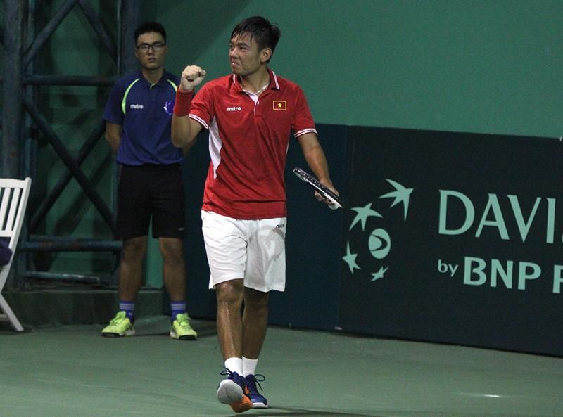 Tuyển Davis Cup VN lần thứ hai thua ngược trên sân nhà - ảnh 2