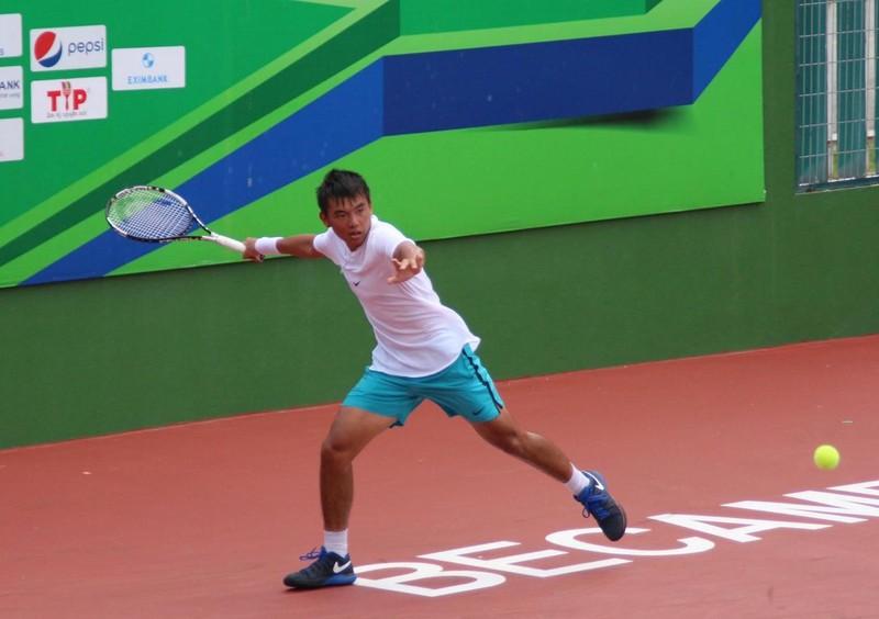 Lý Hoàng Nam hạ gục nhanh tay vợt Trung Quốc - ảnh 1