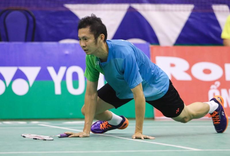 Tiến Minh gác vợt tại vòng ba Việt Nam Open - ảnh 1