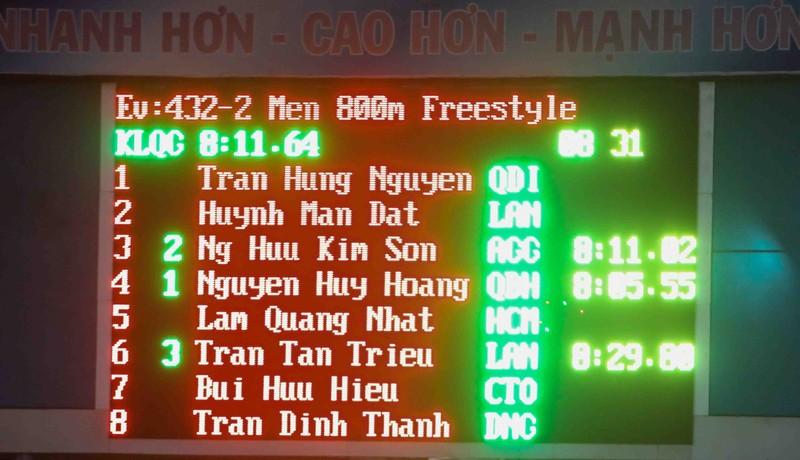 Nguyễn Huy Hoàng hoàn tất hat trick kỷ lục quốc gia - ảnh 2