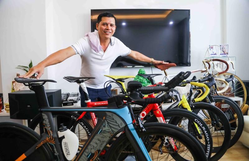 Quý 'gà' sở hữu bộ siêu xe đạp độc nhất Việt Nam - ảnh 1