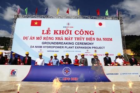 Khởi công dự án mở rộng Nhà máy thủy điện Đa Nhim - ảnh 1