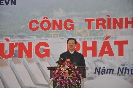Dự án thủy điện Lai Châu sẽ hoàn thành vào cuối năm 2016 - ảnh 2