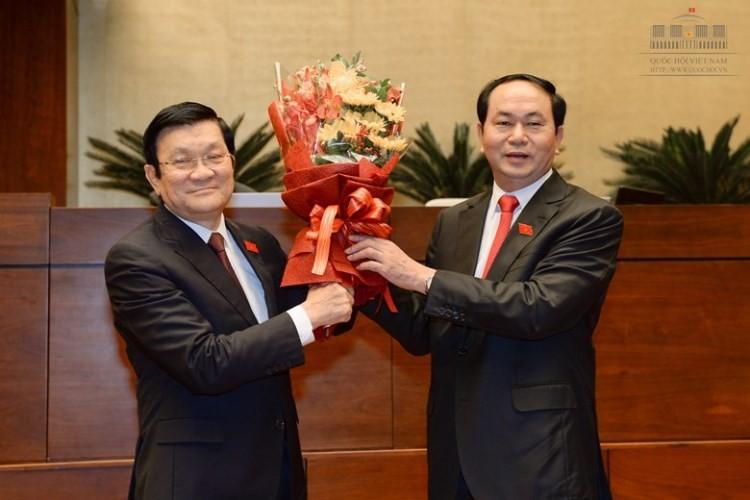 Đại tướng Trần Đại Quang làm Chủ tịch nước - ảnh 3