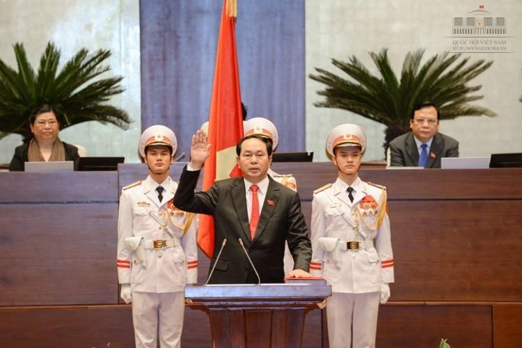 Đại tướng Trần Đại Quang làm Chủ tịch nước - ảnh 1