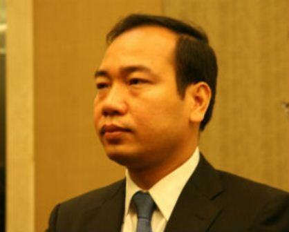 Tân Vụ trưởng Vụ Tổ chức cán bộ Trần Quang Huy.