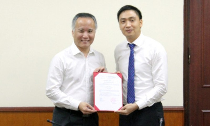 Cựu thư ký bộ trưởng được bổ nhiệm làm vụ phó - ảnh 1
