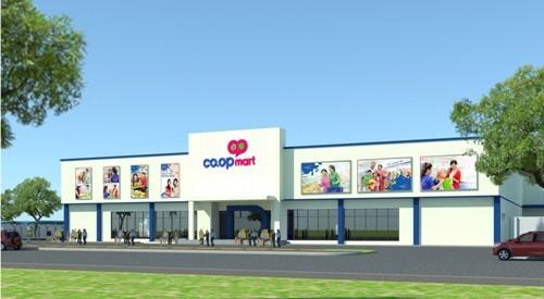 Khai trương siêu thị Co.opmart Bến Lức, Long An - ảnh 1
