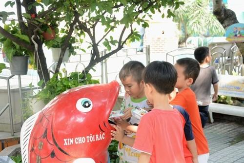 Ngày hội môi trường dành cho các bé mầm non - ảnh 1